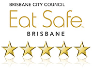BCC Eat Safe Rating - 5 stars