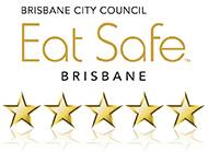 BCC Eat Safe Rating - 5 stars