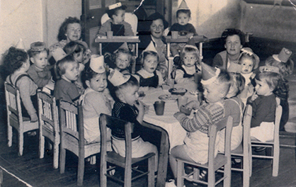 Birthday party - 1955