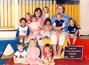 Kurilpa Toddlers - 1985