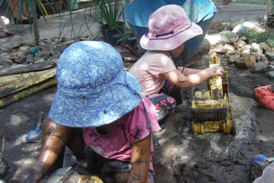 Toddler - Mud play