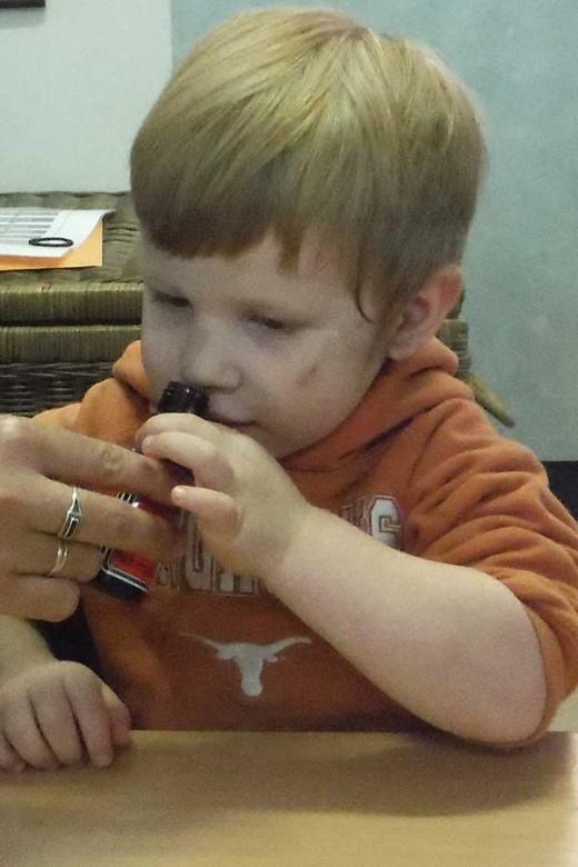 Toddler - Smells yummy