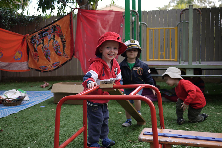 Junior Kindy - Climbing