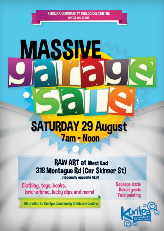 Kurilpa Garage Sale Flyer