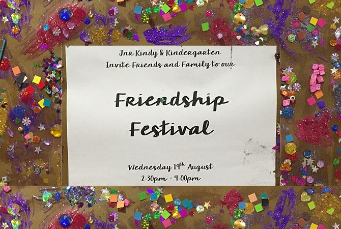 Kindy & Jnr Kindy - Friendship Festival