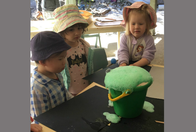 Toddler - science week