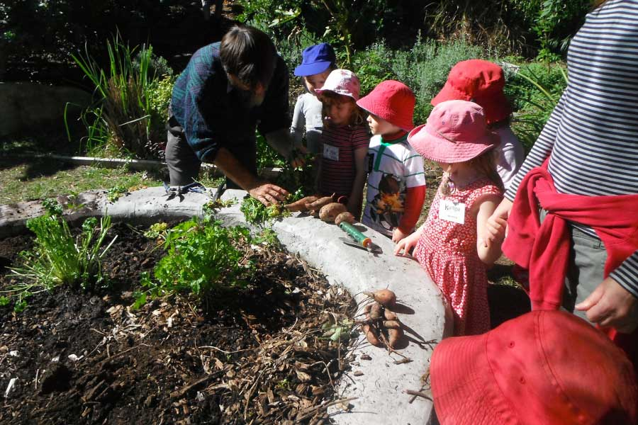 Excursion to Paradise St Community Gardens