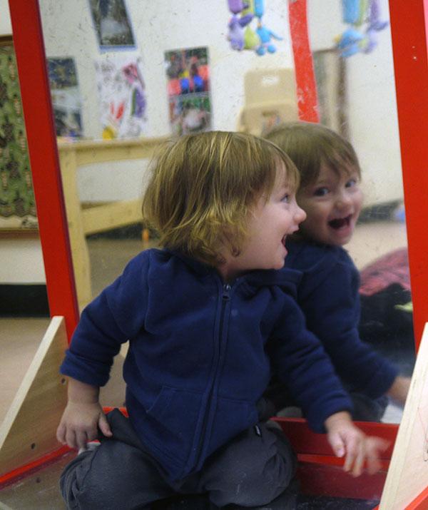 Nursery - peek-a-boo!