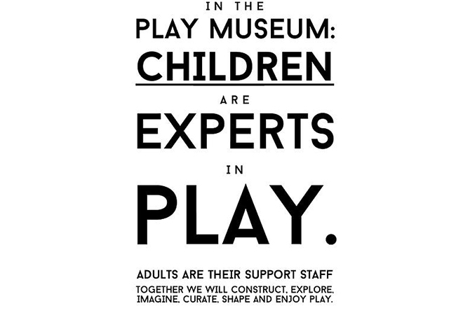 Kindy - The Play Museum - Artists in Residence - Poster