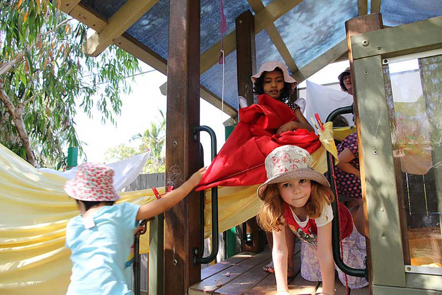 Kindy - Fort and sheets